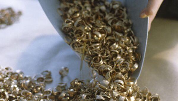 Ювелирные украшения из золота - Sputnik Азербайджан