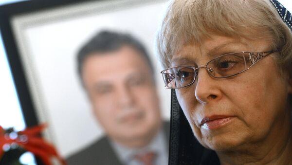 Вдова посла России в Турции Андрея Карлова Марина, фото из архива - Sputnik Азербайджан