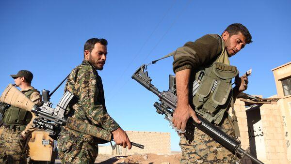 Бойцы Демократических сил Сирии, фото из архива - Sputnik Азербайджан