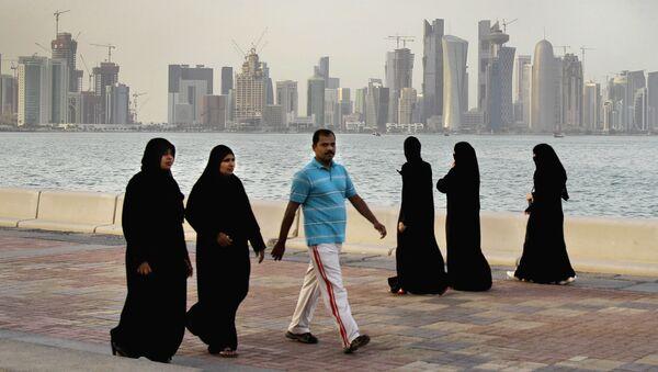 Доха, Катар , фото из архива - Sputnik Azərbaycan