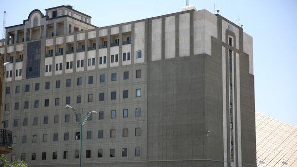 Здание парламента в центральном Тегеране, Иран, 7 июня 2017 года - Sputnik Азербайджан