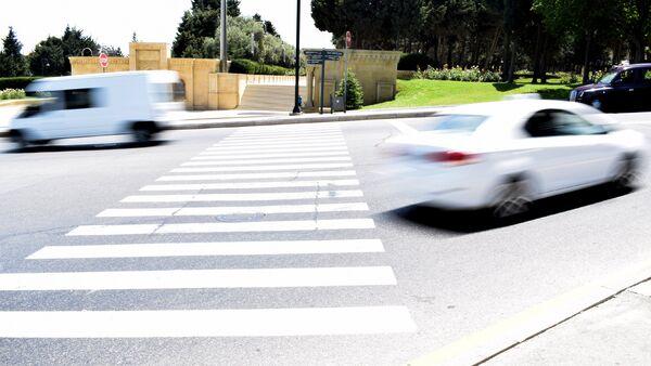 Пешеходный переход в Баку - Sputnik Азербайджан