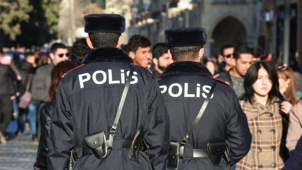 Bakıda polis əməkdaşları, arxiv şəkli - Sputnik Azərbaycan