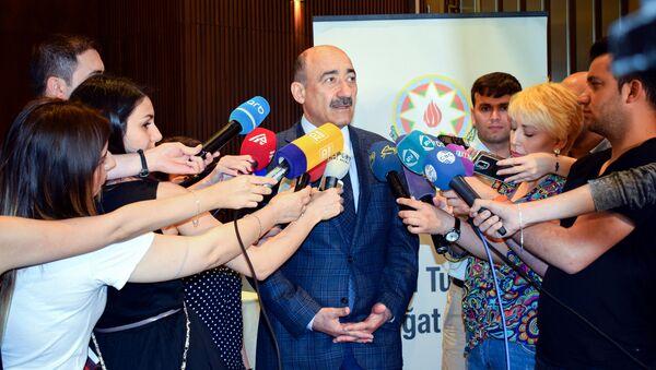 Министр культуры и туризма Абульфас Гараев - Sputnik Азербайджан