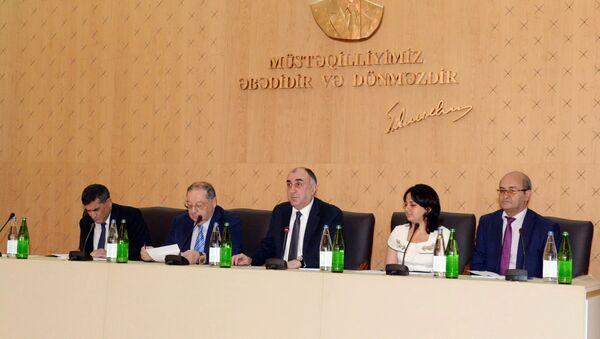 Семинар, посвященный общественно-политической деятельности Азиза Алиева - Sputnik Азербайджан