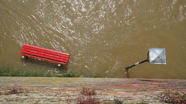 Наводнение, фото из архива - Sputnik Азербайджан