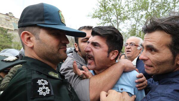 İranda etirazlar, arxiv şəkli - Sputnik Азербайджан