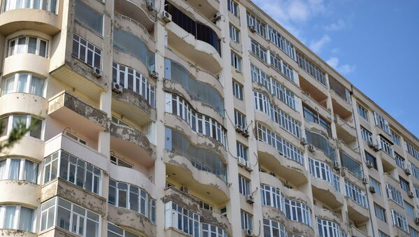 Жилой дом в Баку - Sputnik Азербайджан