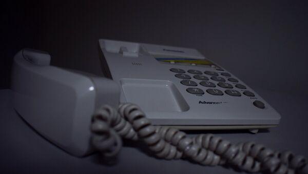 Стационарный телефон, фото из архива - Sputnik Азербайджан