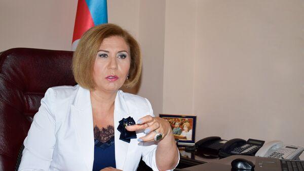 Вице-спикер парламента Азербайджана Бахар Мурадова - Sputnik Азербайджан