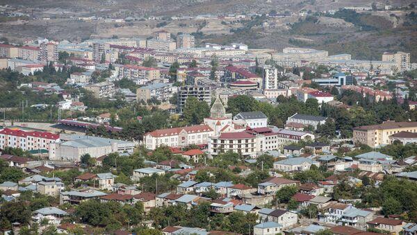 Вид на город Ханкенди, фото из архива - Sputnik Azərbaycan