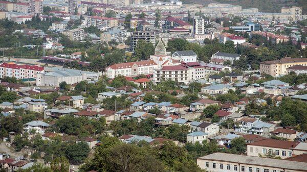 Вид на город Ханкенди, фото из архива - Sputnik Азербайджан
