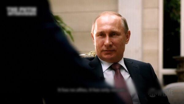 Фрагменты документального фильма Интервью с Путиным - Sputnik Азербайджан