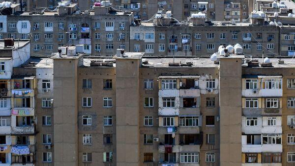 Жилые дома в Хатаинском районе Баку, фото из архива - Sputnik Азербайджан