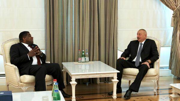 Президент Ильхам Алиев принял генерального секретаря Межпарламентского союза - Sputnik Азербайджан