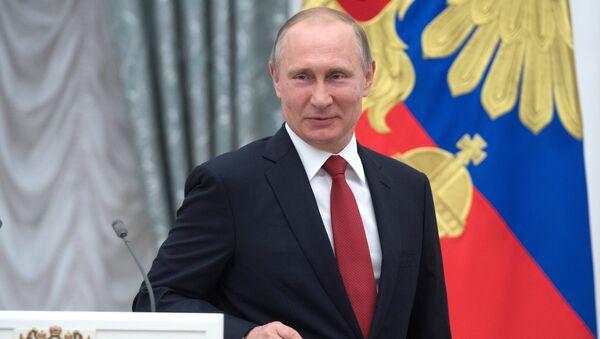 Президент РФ Владимир Путин - Sputnik Azərbaycan