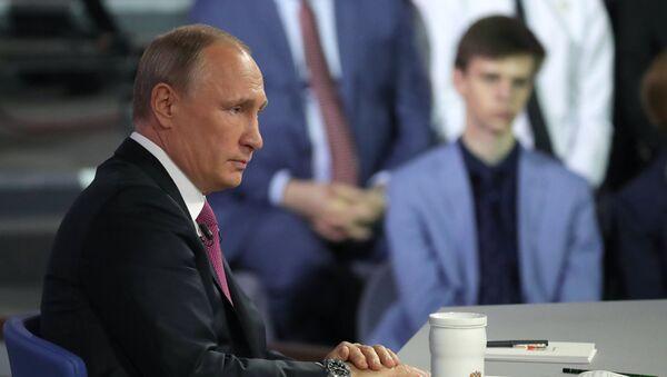 Direct Line with Vladimir Putin - Sputnik Azərbaycan