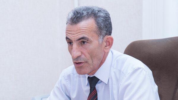 Начальник отдела Республиканского центра гигиены и эпидемиологии Зияддин Кязимов - Sputnik Азербайджан
