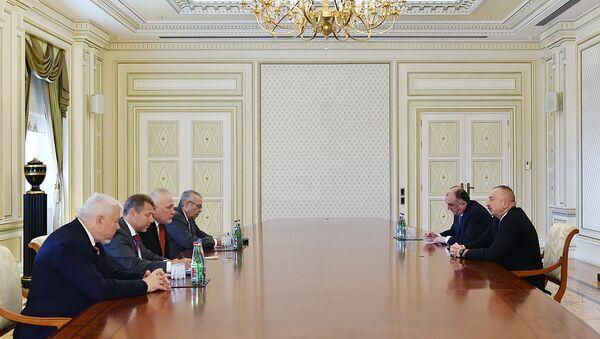 Ильхам Алиев принял сопредседателей Минской группы ОБСЕ - Sputnik Азербайджан