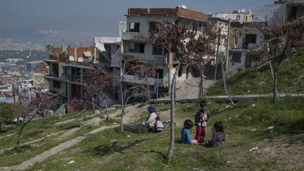 Беженцы, фото из архива - Sputnik Азербайджан