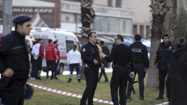 Полиция Турции, фото из архива - Sputnik Азербайджан
