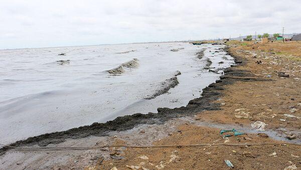 Çirkab sularının axıdılması böyük bir sahəni əhatə edib - Sputnik Азербайджан