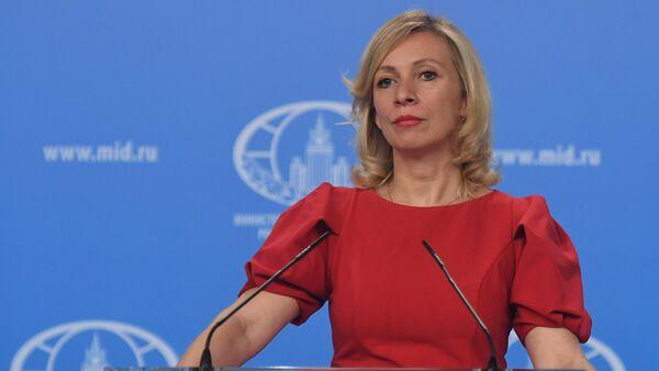 Брифинг официального представителя МИД России М.Захаровой - Sputnik Азербайджан