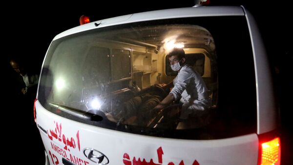 Автомобиль скорой помощи в Афганистане, фото из архива - Sputnik Азербайджан