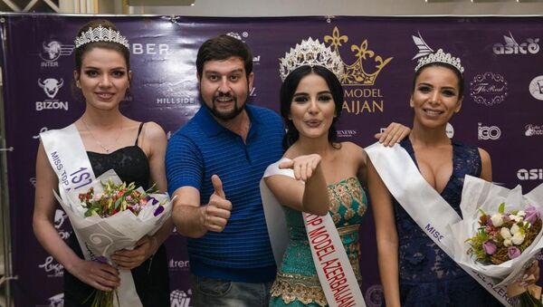 В IZMIR Restaraunt & Music Hall состоялся финал национального конкурса топ-моделей Miss Top Model Azerbaijan-2017 - Sputnik Азербайджан