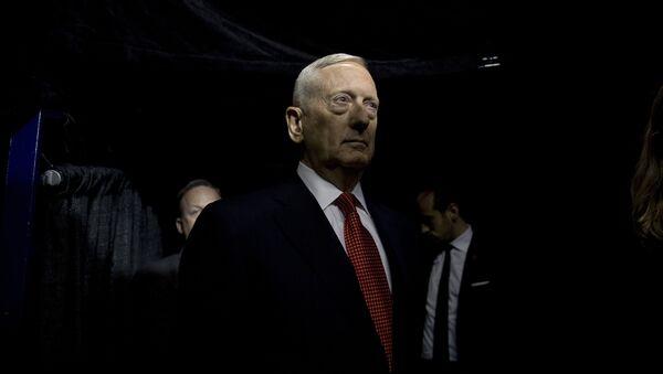 ABŞ-ın müdafiə naziri Ceyms Mettis - Sputnik Azərbaycan