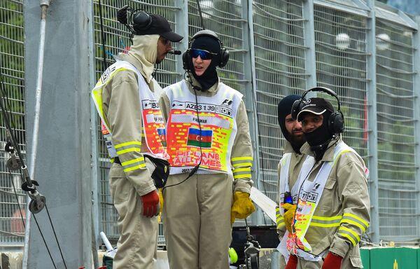 Подготовка к старту Гран-при Азербайджана Формулы-1 - Sputnik Азербайджан