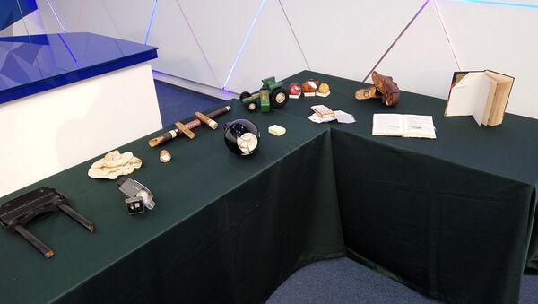 Предметы, в которых провозились партии наркотиков - Sputnik Азербайджан