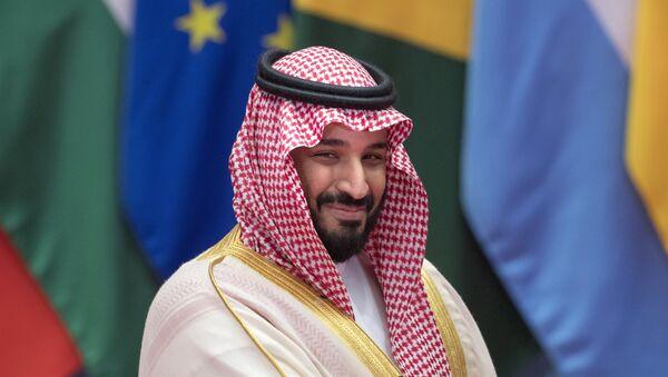 Заместитель наследного принца королевства Саудовская Аравия и министр обороны Мухаммад бин Салман Аль Сауд - Sputnik Azərbaycan