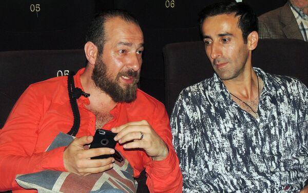 Актеры Расим Джафар и Кямран Агабалаев - Sputnik Азербайджан