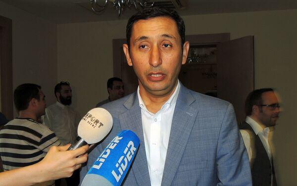 Директор киностудии Азербайджанфильм имени Джафара Джаббарлы Мушфиг Хатамов - Sputnik Азербайджан