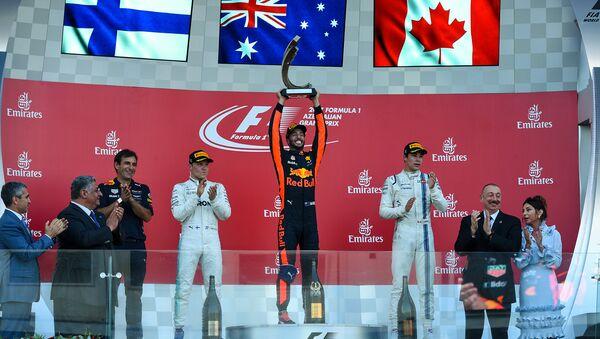 Формула-1 в Баку: тройка победителей - Sputnik Азербайджан