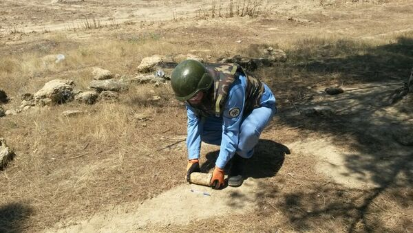 В Баку обнаружен неразорвавшийся снаряд - Sputnik Азербайджан