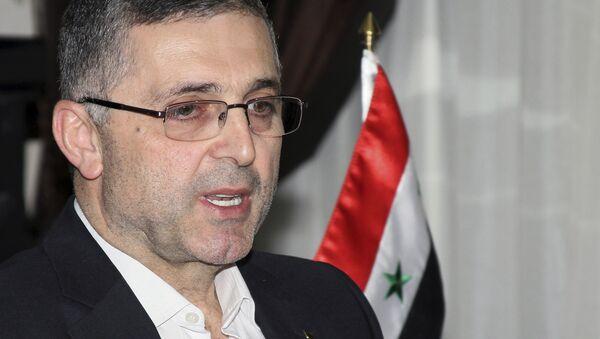 Министр по делам народного примирения Сирии Али Хайдар - Sputnik Азербайджан