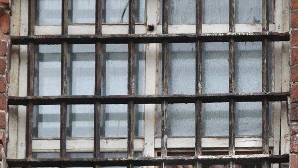 Окно тюремной камеры, фото из архива - Sputnik Azərbaycan