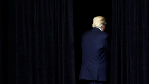 Президент США Дональд Трамп - Sputnik Азербайджан