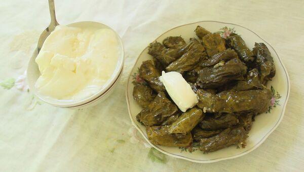 Рецепт еще одной азербайджанской долмы - без мяса - Sputnik Азербайджан