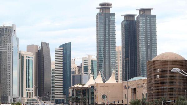 Центральная часть города Доха - Sputnik Азербайджан