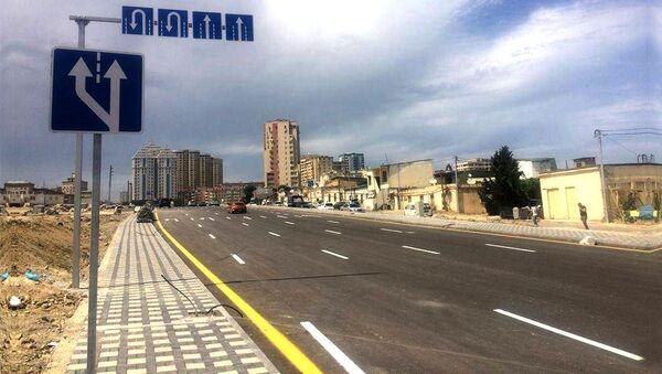 Sovetskidə yeni salınmış yol - Sputnik Azərbaycan