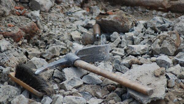 Археологические раскопки, фото из архива - Sputnik Azərbaycan