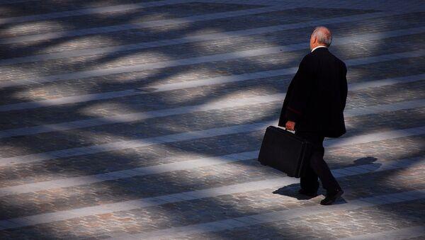 Бизнесмен, фото из архива - Sputnik Азербайджан