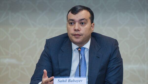 Заместитель министра экономики АР Сахиль Бабаев - Sputnik Азербайджан