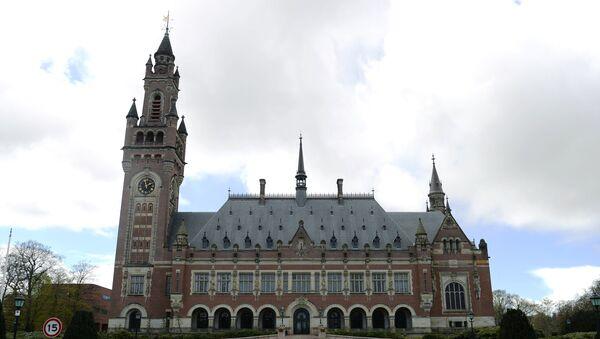 Дворец Мира в Гааге - официальная резиденция Международного суда ООН и Постоянной палаты третейского суда - Sputnik Азербайджан
