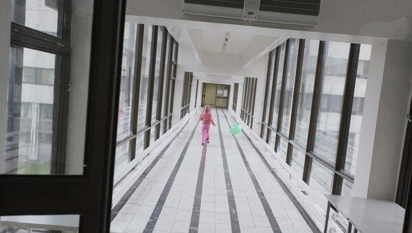Коридор больницы, фото из архива - Sputnik Азербайджан