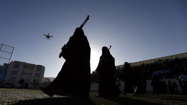 Женщины-боевики, фото из архива - Sputnik Азербайджан