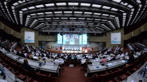 Cессия Парламентской ассамблеи Организации по безопасности и сотрудничеству в Европе, фото из архива - Sputnik Азербайджан